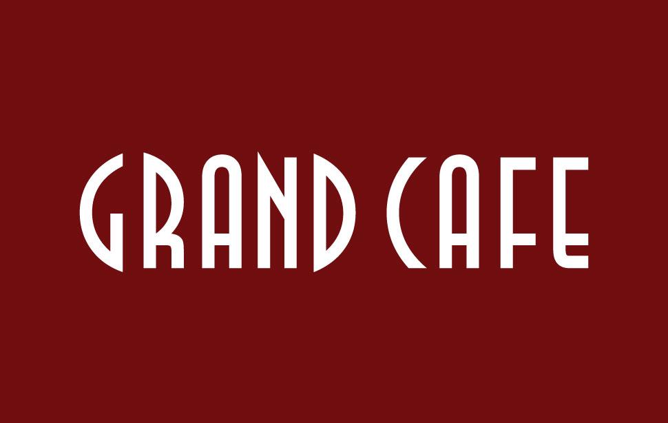 Cafe Restaurant Logo Design Grand Cafe Restaurant Logo