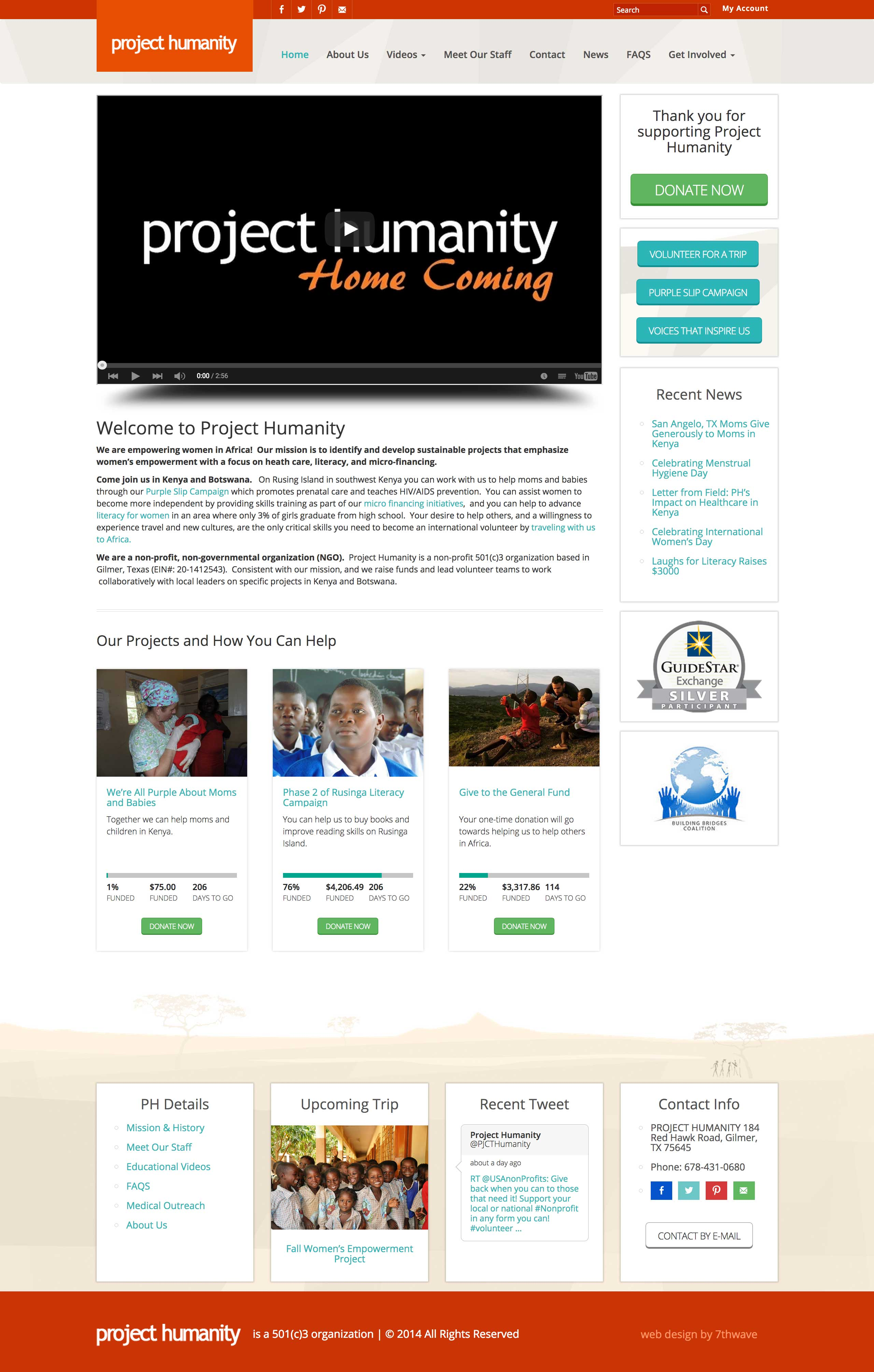 projecthumanity-web-design-home